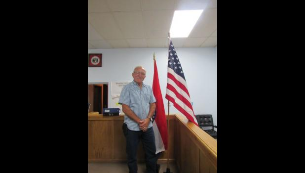 Donnie Pruett was elected mayor of Mountain View in the municipal election on June 2. (photo credit: Amanda Mendez)